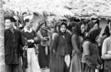 Vietnam, women and men gathered in Catholic village of Vinh Yen