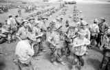 Vietnam, French troops awaiting airlift in First Indochina War