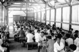 Indonesia, dining hall at Society of Divine Word mission in Ruteng
