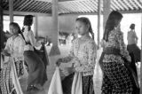 Indonesia, female students at Yogyakarta dance school