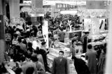 Japan, view of customers in crowded Tokyo department store