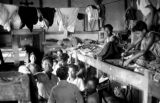 Indonesia, boys in their sleeping quarters at Ruteng mission