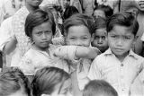 Indonesia, group of young children