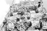 Indonesia, bas-relief detail on Kehen Temple in Bangli regency