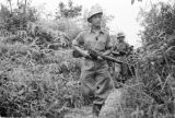 Malaysia, communist Gurkha soldiers on jungle patrol