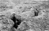 Vietnam, Vietnamese soldiers in trench serving in First Indochina War