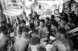 Malaysia, yanggona-making ceremony at Republic of Fiji Military Forces camp