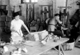 Macau, workers making fireworks at Kwong Hing Tai Firecracker factory