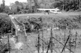 Malaysia, barbed wire surrounding Fort Shean in Pehang