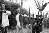 Vietnam, guerilla soldiers recruited by French to serve in First Indochina War