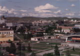 Ulaanbaatar (Mongolia), view from the Bayingol Hotel