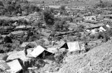 Laos, military camp overlooking Xiangkhoang