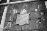 Philippines, Bastion San Gabriel marker in historic district of Manila