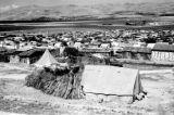 Israel, camp outside town