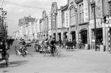 Taiwan, street view of Hengyang Road in Taipei