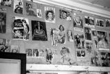 Malaysia, pinup pictures displayed at Republic of Fiji Military Forces sleeping quarters