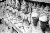 Cambodia, Leper King Terrace bas-relief at Angkor Thom