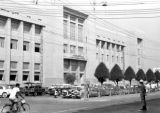 Thailand, Post & Telegraph Department on Pat Pong Road in Bangkok