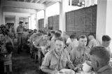 Malaysia, Australian Imperial Forces in dining hall at military camp