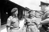 Malaysia, officers at Gurkha military camp