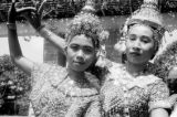 Thailand, portrait of female Khon dancers in Bangkok