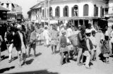Nepal, crowds at Durbar Square