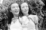 Singapore, two smiling women