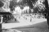 Indonesia, view of market place in Tegal