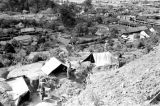 Laos, German soldiers at military camp overlooking Xiangkhoang