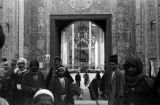 Iraq, entrance to Mashhad al-Kazimiyya shrine in Baghdad