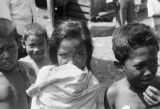 Philippines, portrait of boys and girl in Port Holland