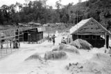 Malaysia, buildings and structures at Fort Telanok military camp