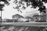 Philippines, Supreme Court Building across road in Manila