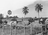 Singapore, view from outside opium plant factory buildings