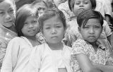 Indonesia, portrait of children at Yogyakarta dance school