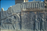 Persepolis (Iran), bas-relief on wall