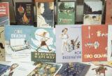 Russia, display of children's books