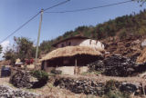 Pokhara (Nepal), round wattle and daub house