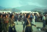 Bamian province (Afghanistan), men celebrating national day