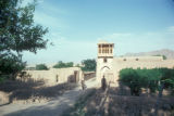 Afghanistan, guest house in village
