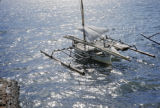 Indonesia, outrigger boat