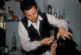 Cinarcik (Turkey), barbershop