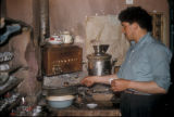 Cinarcik (Turkey), brewing coffee