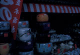 Kyoto (Japan), store displaying ceramic flowerpots and bowls