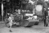 Moscow (Russia), children on a playground