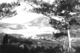 Korea, view of the hillside in South Cholla province