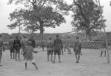 Shanghai (China), Red Army boy soldiers playing volleyball