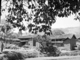 China, mud brick buildings in a village