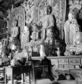 Luliang (China), Buddha and intricate detail of temple altar