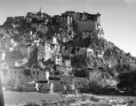 Jammu and Kashmir (India), view of Thikse monastery